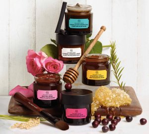 the body shop, superfood, masks