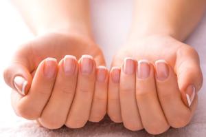 la forma de las uñas