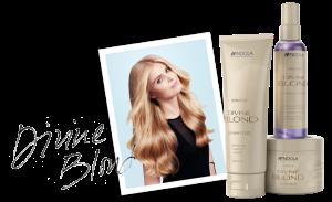 divine blond indola